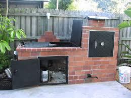 home built smoker plans brick barbecue