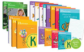 reading curriculum for kindergarten horizons homeschool curriculum kindergarten grade k complete set