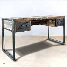 bureau industriel metal et bois console metal bois tshuttle co