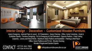 interior design decor carpentry and joinery works glass and