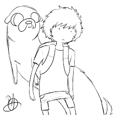 adventure time sketch by patcha105 on deviantart