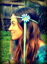 hippie flower headbands hippy flower headbands flower headbands cool stuff and bands