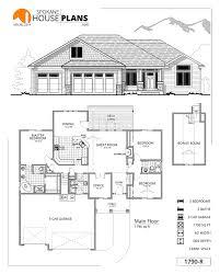 6 Car Garage Plans 1790 R Spokane House Plans