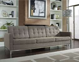 Knoll Settee Collection In Knoll Sofa With Florence Knoll Sofa Reproduction
