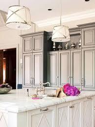 stylish modern kitchens drum pendant lighting for stylish modern kitchen decoration