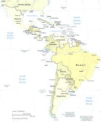 Central And South America Map by South America Maps Fair Amarican Map Evenakliyat Biz