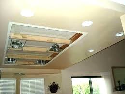 installing can lights in ceiling how to install can lights in a drop ceiling recess lights recess
