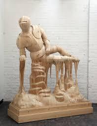 wood sculptures of surreal figures fubiz media intended for wood