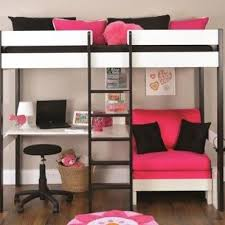 More Bunk Beds Photos Of Metal Frame For Loft Bed With Futon And Desk Pinteres