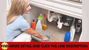 details under sink cabinet mat drip tray liner beige best youtube