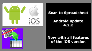 Features Of Spreadsheets Android Scan To Spreadsheet 4 2 X Youtube