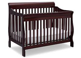 nursery cherry wood crib and changing table cribs under 100