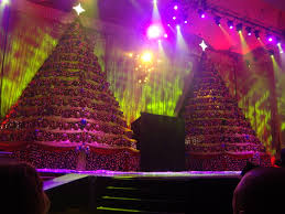 the singing christmas trees 2015 at first baptist church of