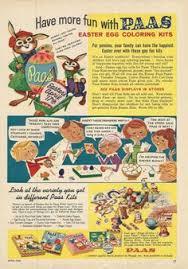 paas easter egg dye vintage paas easter egg coloring kit 1960s egg coloring easter