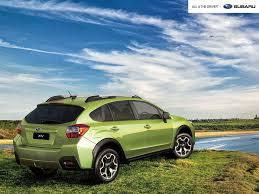 subaru green green cars