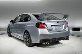 Subaru Top Speed 2015 Subaru Wrx Sti First Look Motor Trend