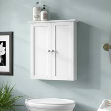 wall hanging bathroom cabinets wall mounted bathroom cabinets you ll love wayfair