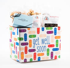 get well soon gift get well gift box alpine chocolat haus