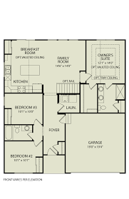 alexander 107 drees homes interactive floor plans custom