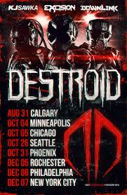 halloween horror nights dubstep destroid to take live dubstep band show on tour this fall