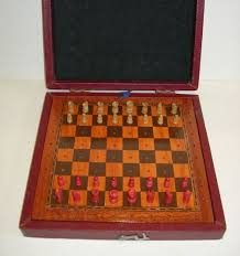 Colorado travel chess set images Vintage travel chess set by jaques of london c 1920 94087 jpg