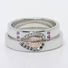 unique wedding ring sets his and hers wedding rings cheap matching wedding bands for him and trio