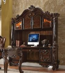 Computer Desk With Hutch Cherry Acme Versailles Computer Desk W Hutch Cherry Oak Versailles