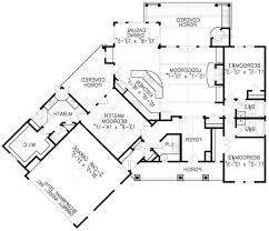 U Shaped House Plans by L Shaped House Plans Single Level Arts