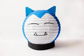diy pokémon inspired craft snorlax lantern u2014 all for the boys