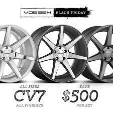 woot black friday deals vossen wheels vfs series cv series u0026 vle series member pricing