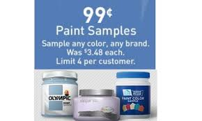 lowe u0027s paint samples for 99 southern savers