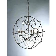 Sphere Chandelier With Crystals Sphere Chandelier Sphere Chandelier With Crystals Medium