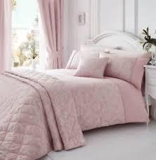 Luxury Bed Linen Sets Laurent Pink Woven Damask Quilt Duvet Cover Sets Bedding Sets