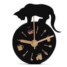 Horloge Cuisine Rouge by Horloge Murale Moderne Pendule Montre Aimant Decoration Pr Salon