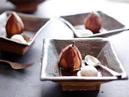 poached pears the thanksgiving dessert devour cooking