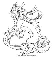 imperial dragon coloring craft dragons