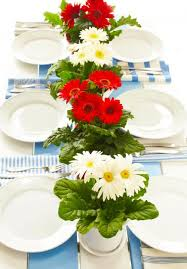 Table Decorating Ideas Easy Red White And Blue Decorating Ideas Midwest Living
