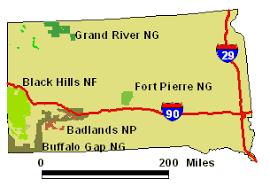 badlands national park map badlands maps national parks project bond and kopp