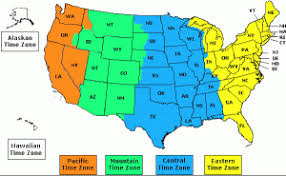 zone map for usa map usa with zones major tourist attractions maps