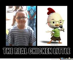 Little Meme - chicken little by germs82 meme center