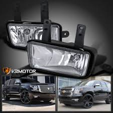 2017 chevy tahoe fog light kit 2015 2017 chevy tahoe suburban clear bumper driving fog lights