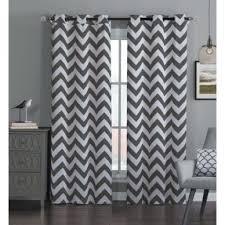 grey chevron curtains design modern home interior designer