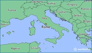 rome on a map where is rome italy where is rome italy located in the