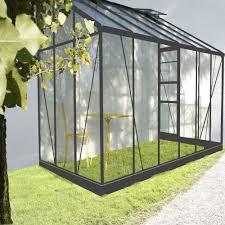 serre jardin d hiver serre solarium adossée de 7 22m2 de surface en verre transparent