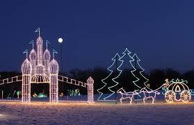 Display Lighting Christmas Light Displays 7 Holiday Light Shows Near Atlanta