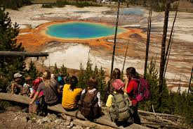 Wyoming travel girls images Girl scouts for girls travel wildlife geysers mountains jpg