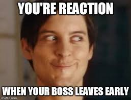 Boss Meme - boss is out imgflip