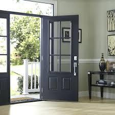 Fiberglass Exterior Doors With Sidelights Glass Front Door With Sidelights Glass Front Doors S S S 3 4 Glass