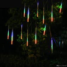 cheap snowfall led light meteor shower