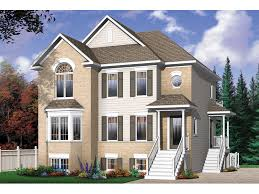 geary place triplex townhouse plan 032d 0383 house plans and more